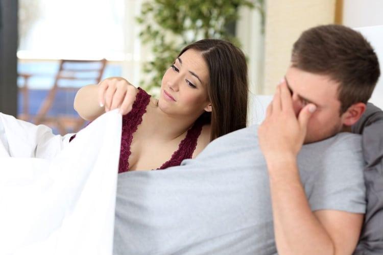 az erekció hiánya egy nővel merevedés idegenrel