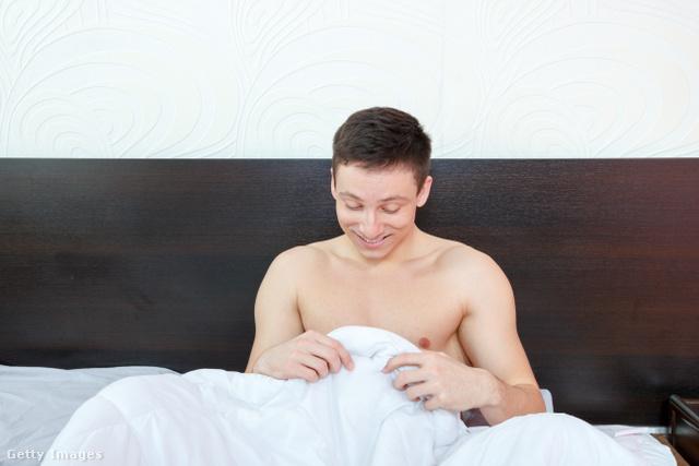 a férfiaknak minden reggel merevedése van